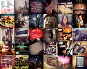 #FebPhotoADay Collage