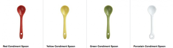 Condiment Spoon