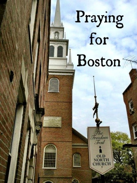 Praying for Boston