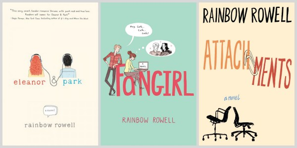 book reviews eleanor park fangirl and attachments by rainbow